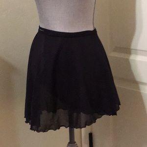 Ballet Dance Skirt Black